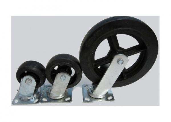 Большегрузные обрезиненные колёса, их виды и применение